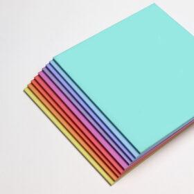 Perspex Panels Pastels Range